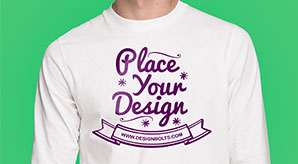 Free-White-Long-Sleeves-T-shirt-Mock-up-PSD-Front-&-Backside