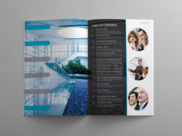 30 really beautiful brochure designs templates for for Technology brochure templates