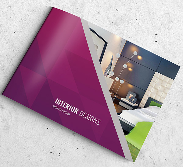 30 really beautiful brochure designs templates for for Interior design layout templates