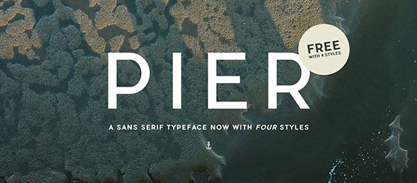 PIER-SANS-FREE-Perfect-San-Serif-with-4-styles