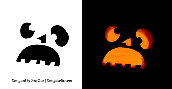 Cute funny cool easy halloween pumpkin carving patterns 4 simple pumpkin carving stencils patterns 2015 free maxwellsz