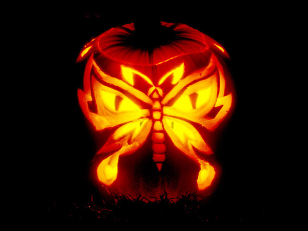 28 Best Cool Scary Halloween Pumpkin Carving Ideas Designs
