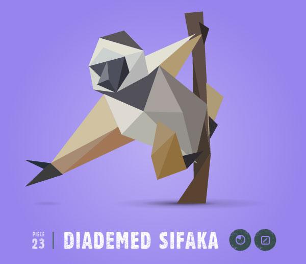DIADEMED-SIFAKA
