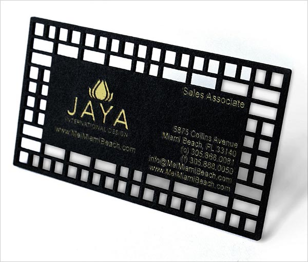 Laser-cut-stencil-matte-board-business-card