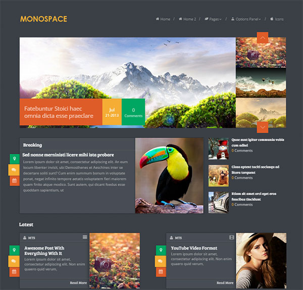 Monospace-Best-Blog-wordpress-theme-2015