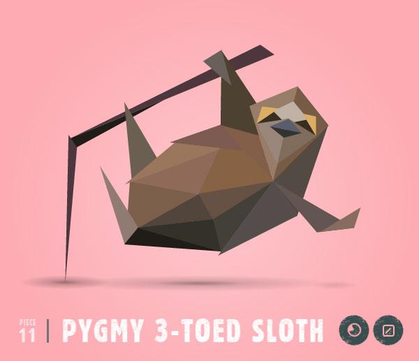 PYGMY-3-TOED-SLOTH