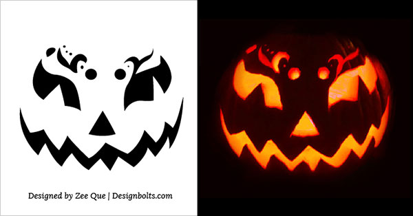 Easy Pumpkin Carving Stencils ideas 2015