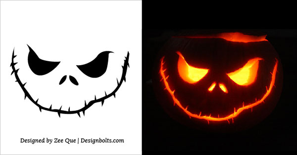 best free pumpkin carving stencils 2015 - Free Scary Halloween Pumpkin Carving Patterns