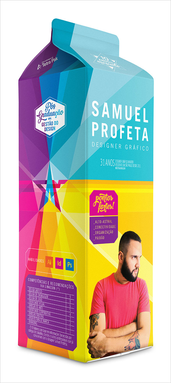 absolutely crazy yet creative resume designs for inspiration samuel profeta creative resume cv design