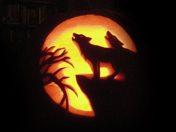 Scary Wolf Pumpkin Carving Ideas 2015 Part 90
