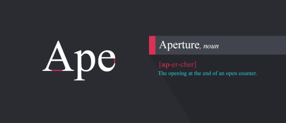 1.Aperture