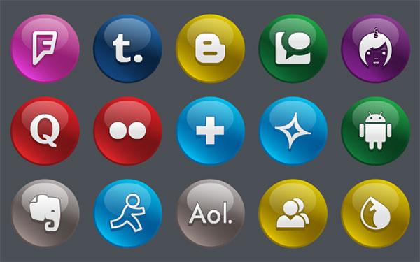 150-Free-Glossy-Social-Media-Icons
