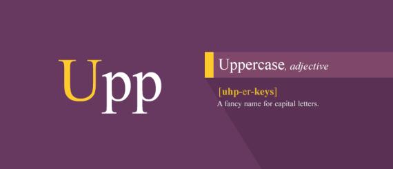 5. Uppercase
