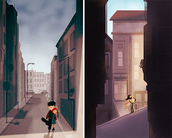 City-Walks-Cute-Love-Illustrations