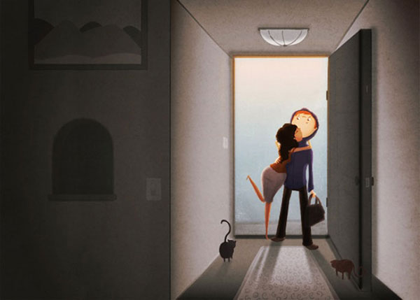 Coming-Home-Cute-Love-Illustrations