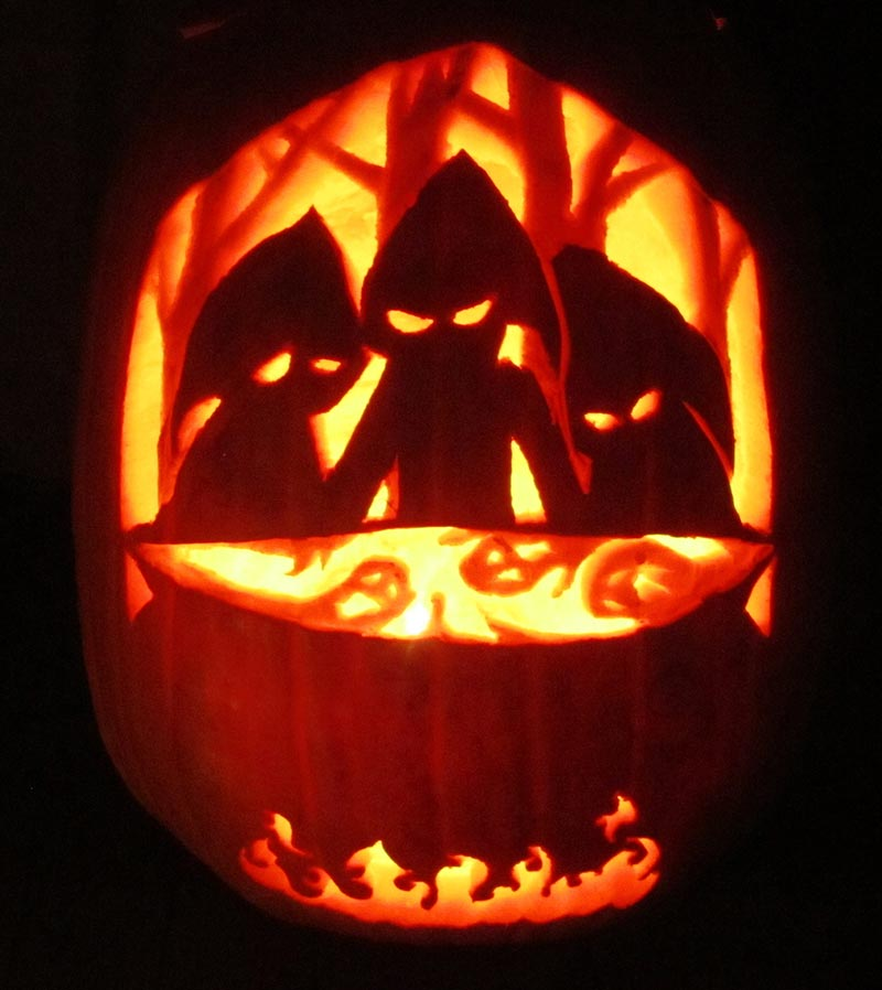 Cool halloween pumpkin designs 2015