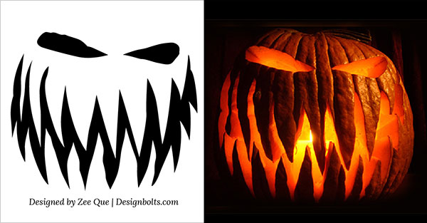 Free-Scary-Pumpkin-Carving-Ideas-2015