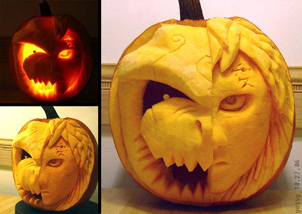 Gaara-and-Shukaku-Scary-Pumpkin-Carving-Ideas