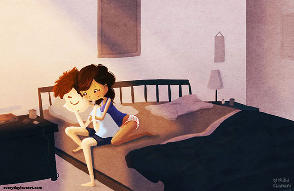Good-Morning-Cute-Love-Illustrations