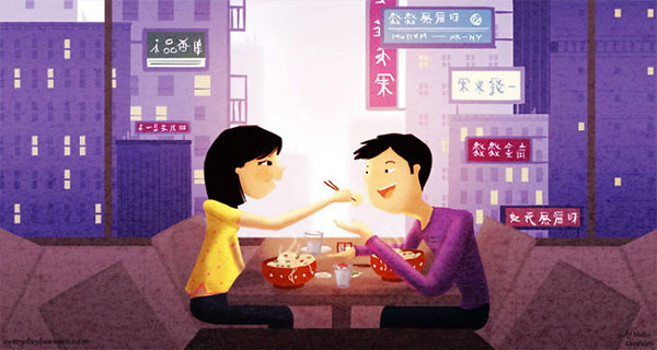 The-Last-Dumpling-Cute-Love-Illustrations