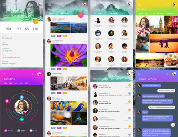 Colourful-Flexible-Free-UI-Kit
