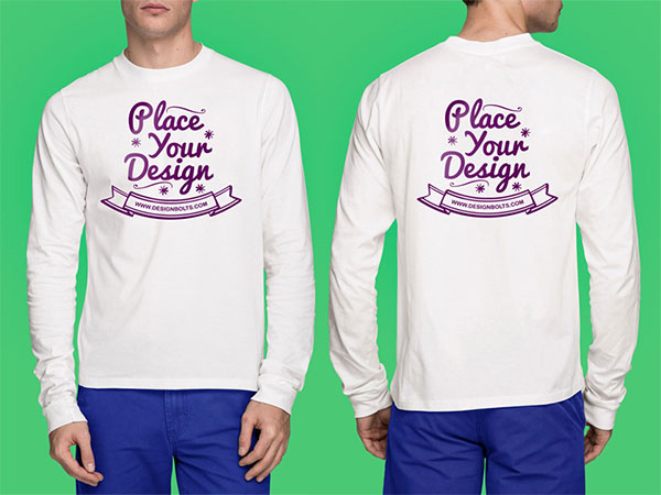 Free-High-Quality-White-T-Shirt-Mock-up-Psd