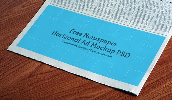 Free-Newspaper-Horizonal-Ad-Mockup-PSD