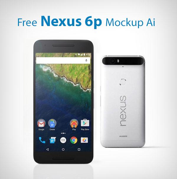 Free-Nexus-6p-Mockup-Ai