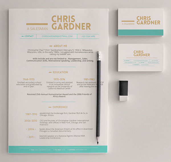 10 latest freebies and psd mockups for graphic designers for free simple resume template business card template reheart Images