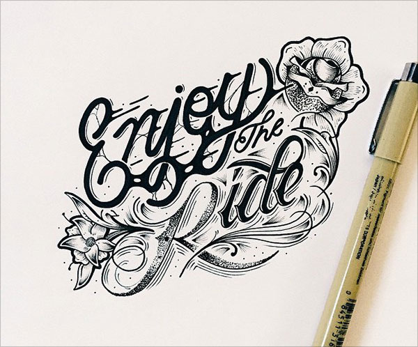nspiring Detailed Hand Lettering Artworks (12)