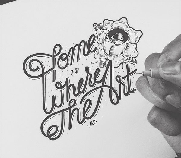 nspiring Detailed Hand Lettering Artworks (15)
