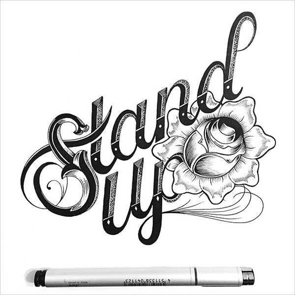 nspiring Detailed Hand Lettering Artworks (31)