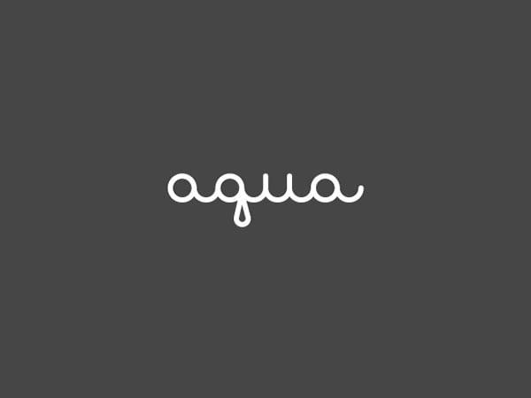 Aqua-logo-design
