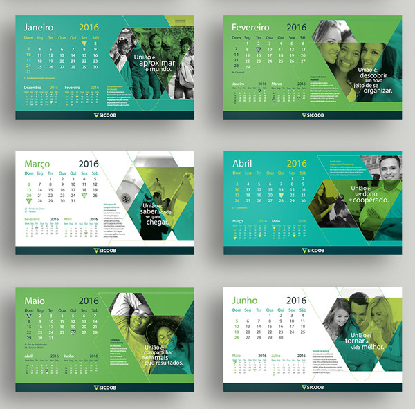 25 best new year 2016 wall desk calendar designs for