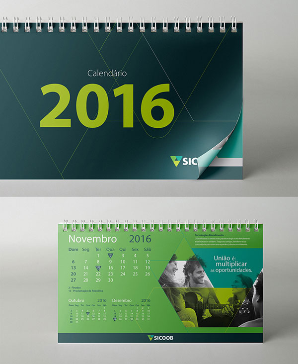 25 Best New Year 2016 Wall & Desk Calendar Designs For Inspiration