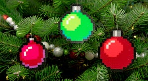 Pixel-Art-Christmas-2015-Ornaments-Baubles-tree-decorations