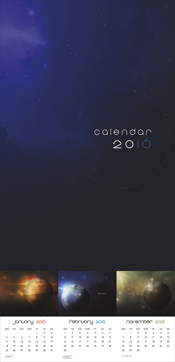 Planets-Calendar-2016