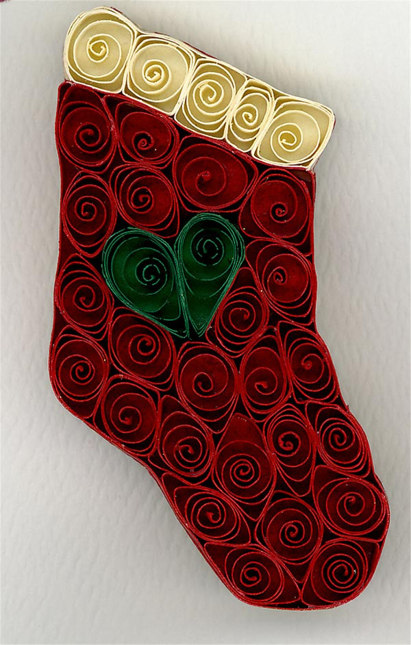 Quilled-Christmas-stocking
