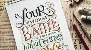 35+-Beautiful-Inspiring-Ink-&-Watercolor-Hand-Lettering-Projects-by-Abbey-Sy