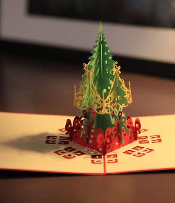Buy the best 20 pop up christmas greeting cards of 2015 3d laser cut pop up greeting card christmas m4hsunfo
