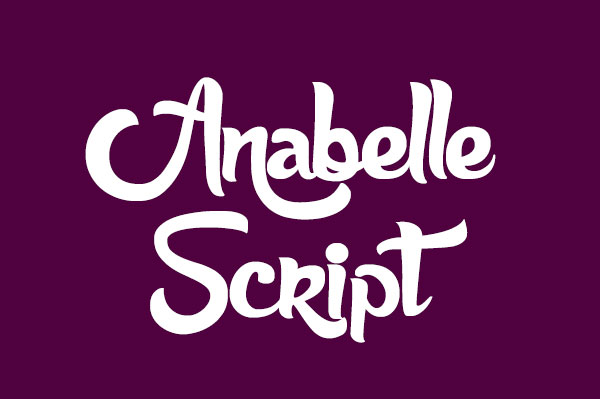 anabelle script 2 best free script fonts 2016