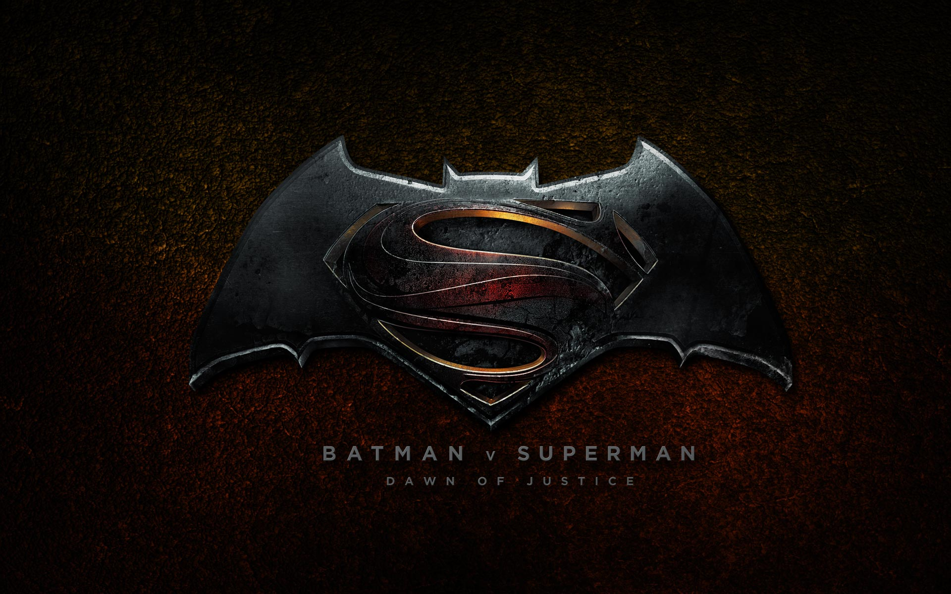 Batman Vs Superman 2016 Logo Wallpaper HD1