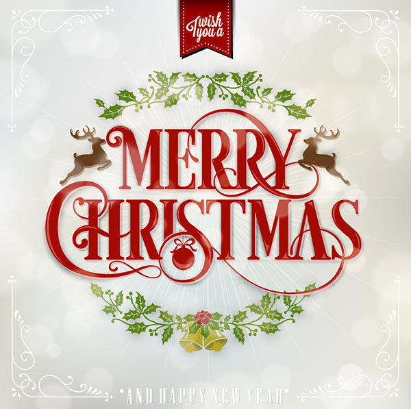 Beautiful_merry-Christmas-Typography-card