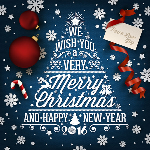 20 most beautiful premium christmas card designs of 2015 new year 2016 best happy new year 2016 christmas card m4hsunfo