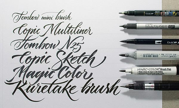 pentel color brush pen instructions
