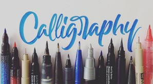 Buying-Guide-of-Calligraphy-Writing-&-Hand-Lettering-Pens,-Brushes-&-Markers