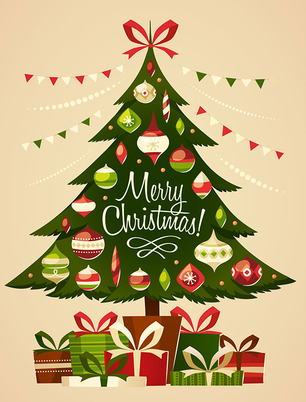 nice christmas tree card designs part 1 hypnofitmauicom - Christmas Tree Card