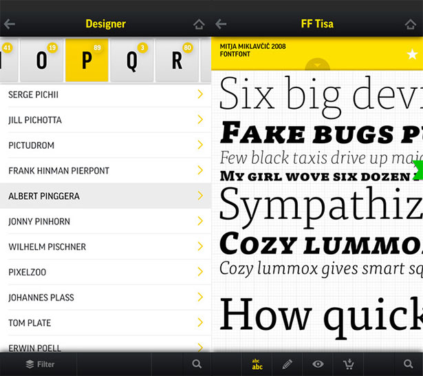 Fontbook-Best-Font-iphone-app-for-graphic-designer