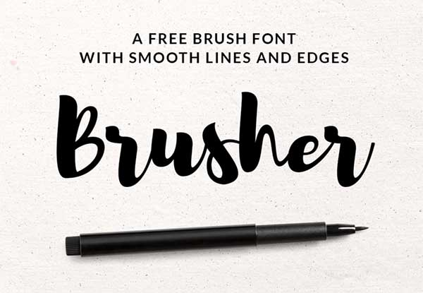 Free-Brush-Pen-Font-Download