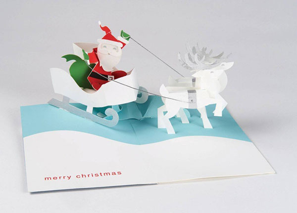 Buy The Best 20 Pop Up Christmas Greeting Cards Of 2015